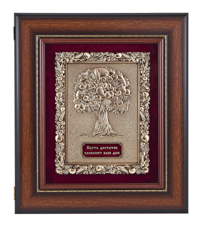Ключница настенная Древо изобилия, орех, пластик
