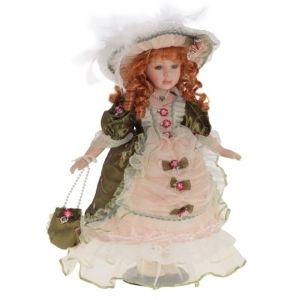 Фарфоровая кукла Елена, 40см