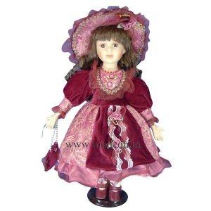 Фарфоровая кукла Лизочка, 40см.