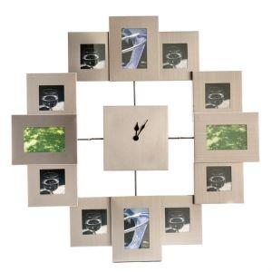 Часы-фоторамки Время в квадрате