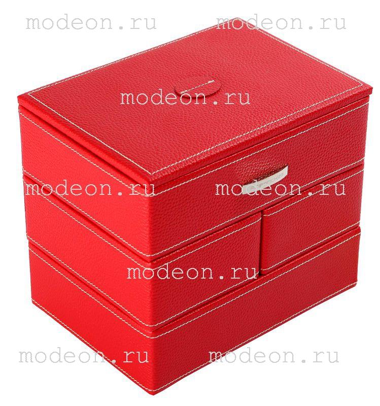 Шкатулка для украшений Флекси-кейс, красная