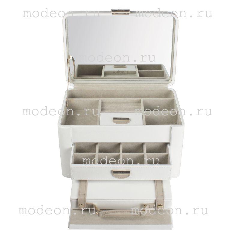 Шкатулка для драгоценностей Белая лилия, LC Designs.