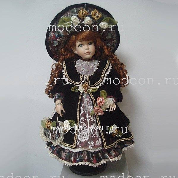 Фарфоровая кукла Матильда, 61см