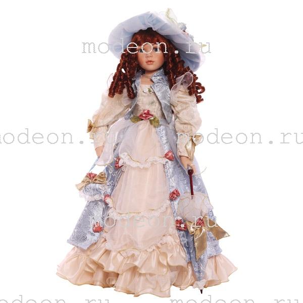 Большая фарфоровая кукла Любовь, 79см.