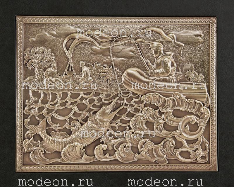 Набор подарочный Рыбацкий, в ларце