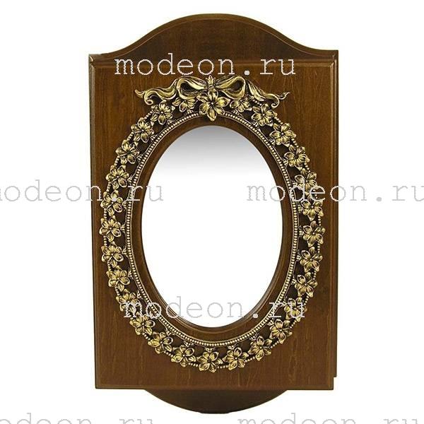 Ключница настенная Овальное зеркало, новая.