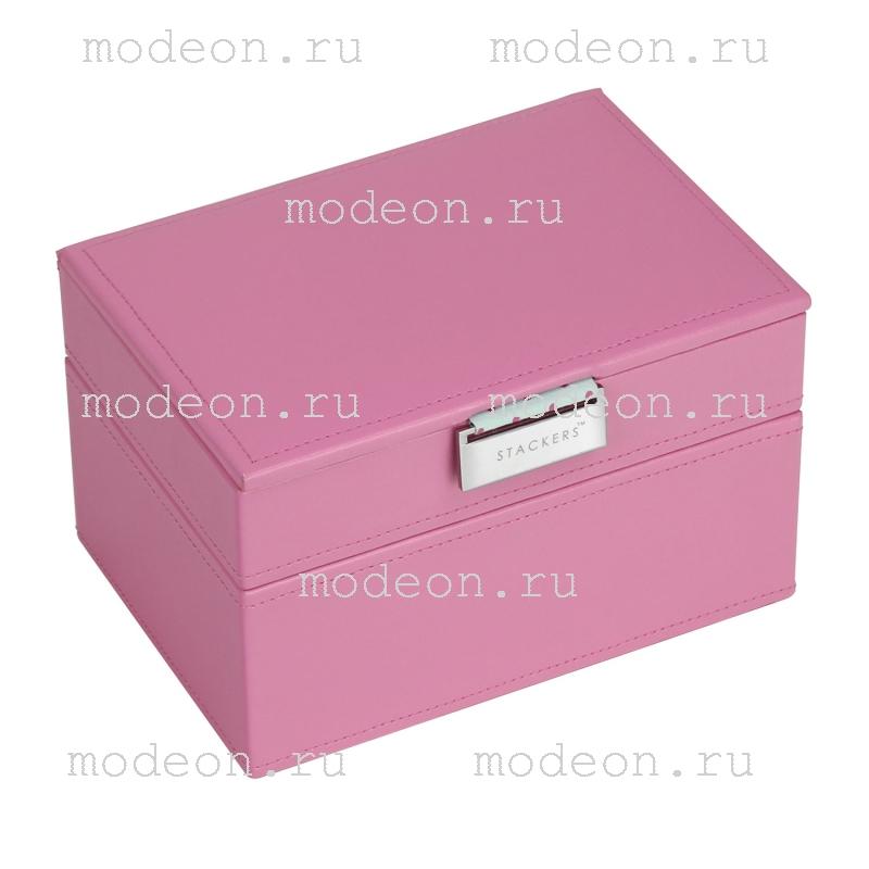 Шкатулка для драгоценностей Глостер, розовая