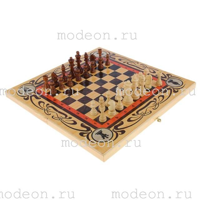 Шахматы, нарды, шашки на 50 Статус.
