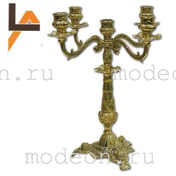 Канделябр на 5 свечей Летиция