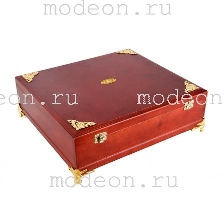 Подарочная деревянная шкатулка для книги