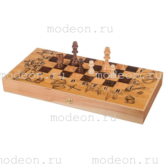 Шахматы, нарды, шашки на 50 Рыцари.