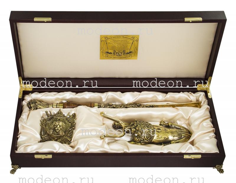 """Подарочный набор для обуви VIP """"Княжеский+3 льва, большой"""""""