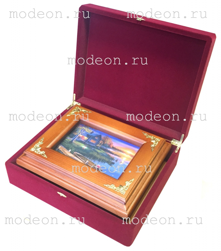Подарочная коробка для ключниц, малая