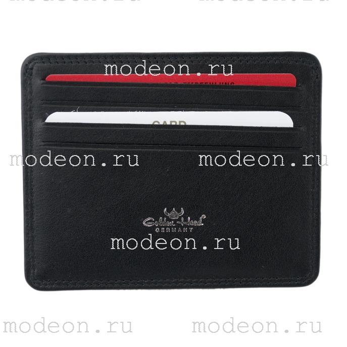 Открытый футляр для кредитных карточек и визиток Golden Head Поло 4440