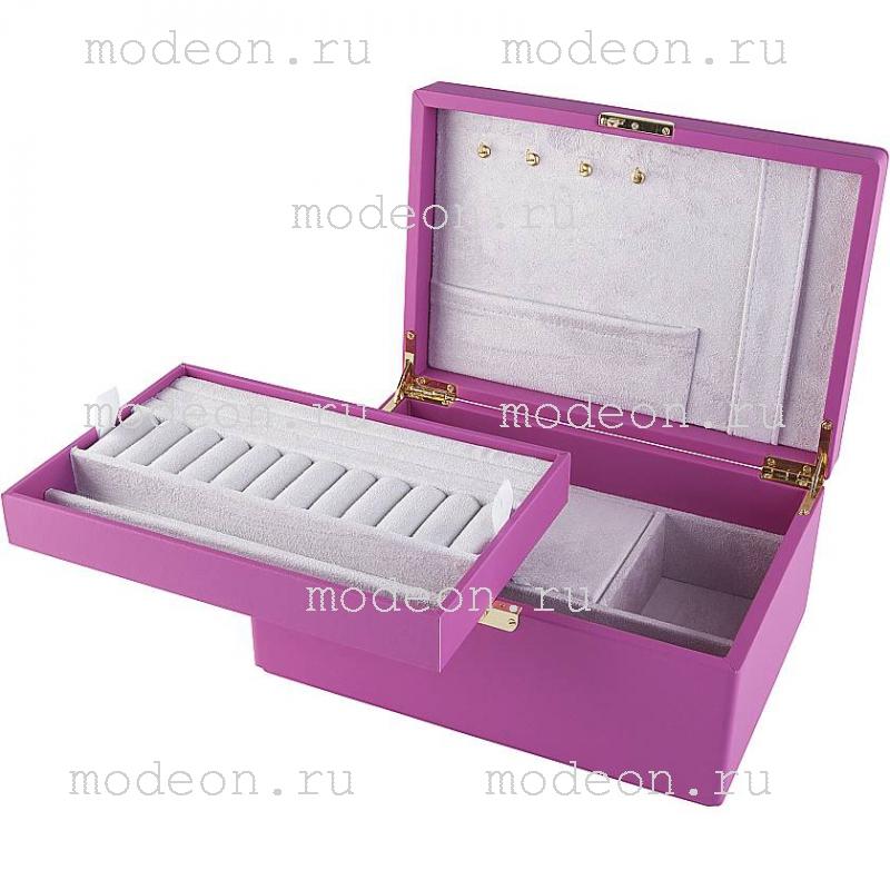 Шкатулка для украшений Rivoli-200, розовая