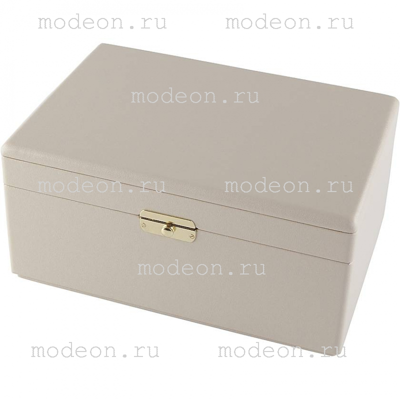 Шкатулка для украшений Rivoli-200, бежевая