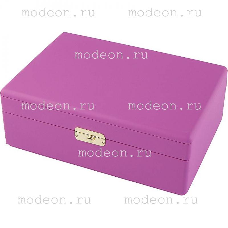 Шкатулка для украшений Rivoli-100, розовая