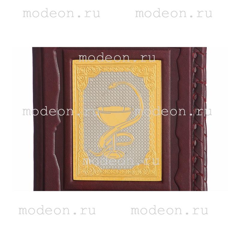 Обложка для паспорта Медику, золото
