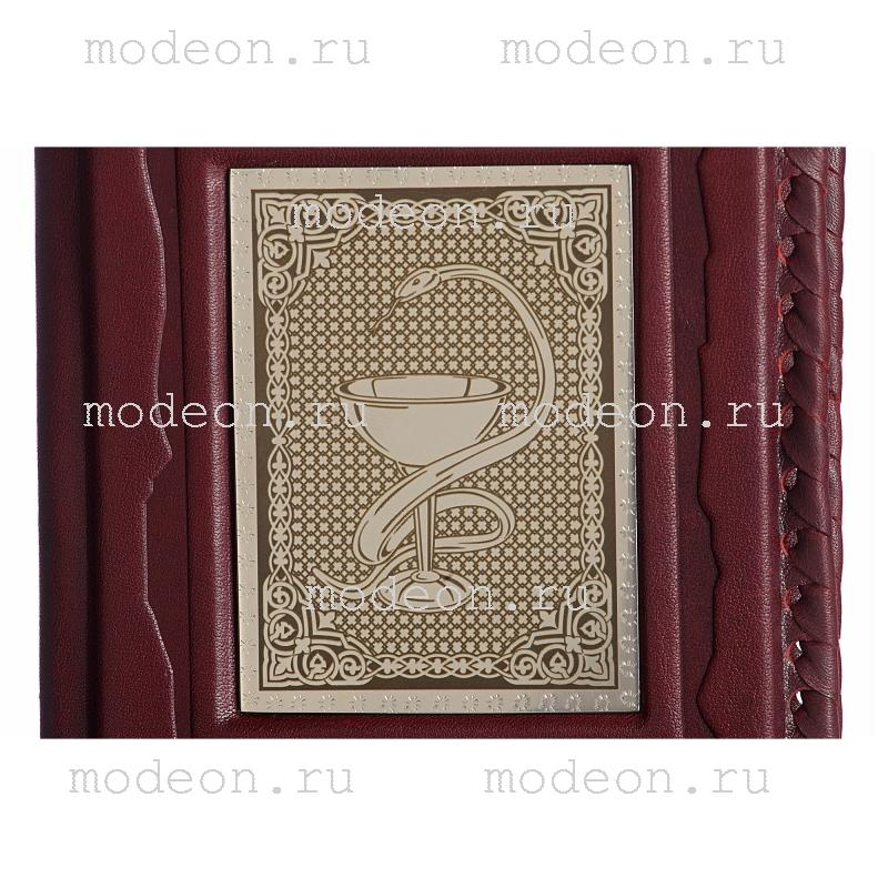 Обложка для паспорта Медику, серебро
