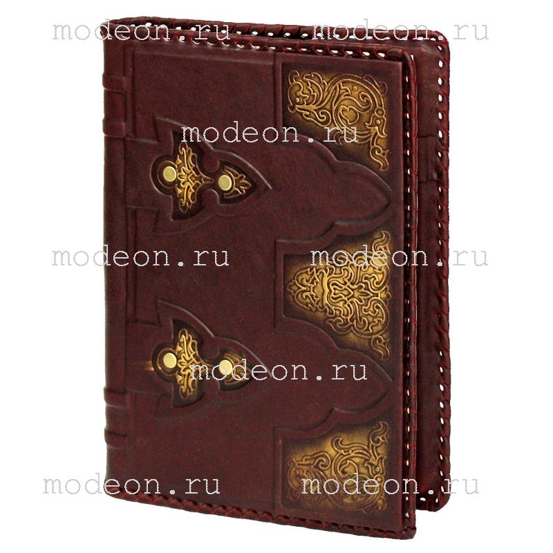 Кожаный ежедневник Восточные ворота, малый