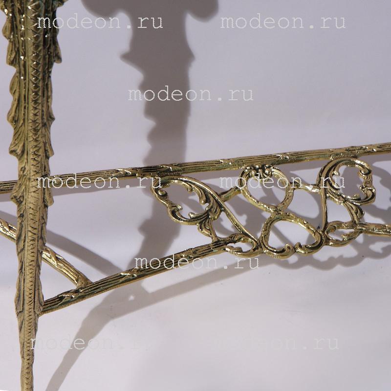 Консоль бронзовая Креденсия