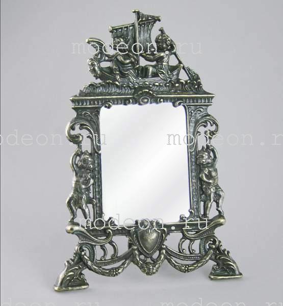Зеркало настольное Ангелы на корабле