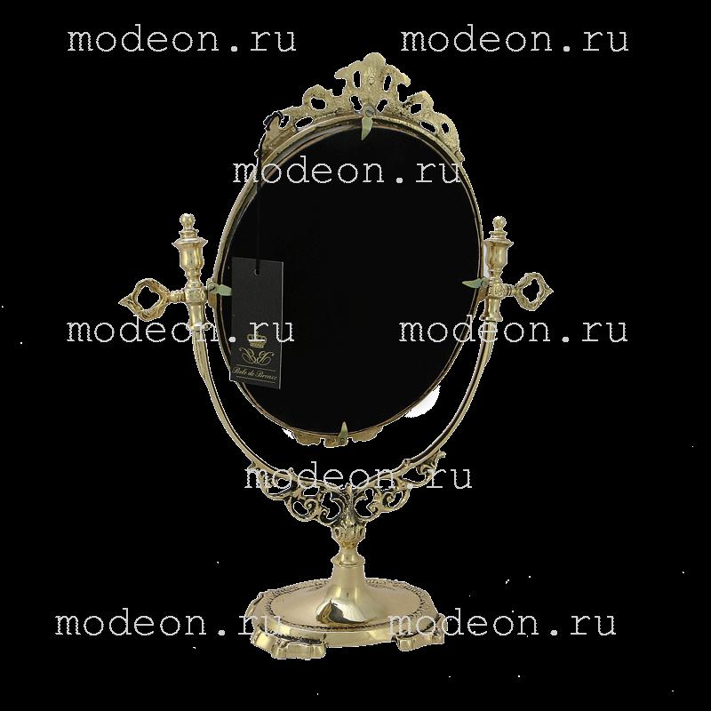 Зеркало настольное из бронзы Будуар