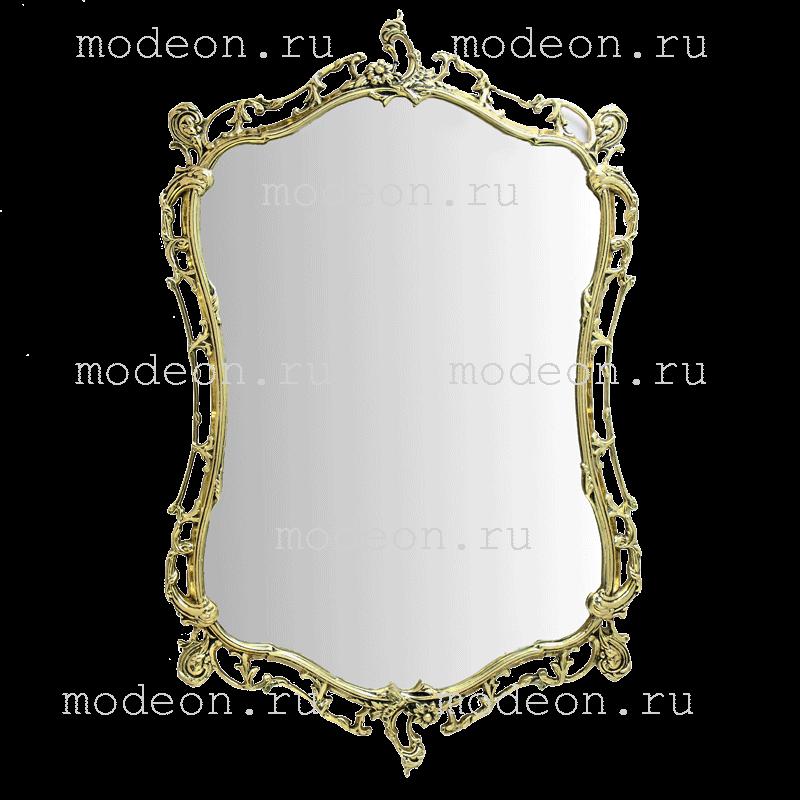 Зеркало в раме из бронзы Бикош