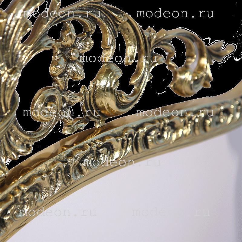 Зеркало в бронзовой раме Конша