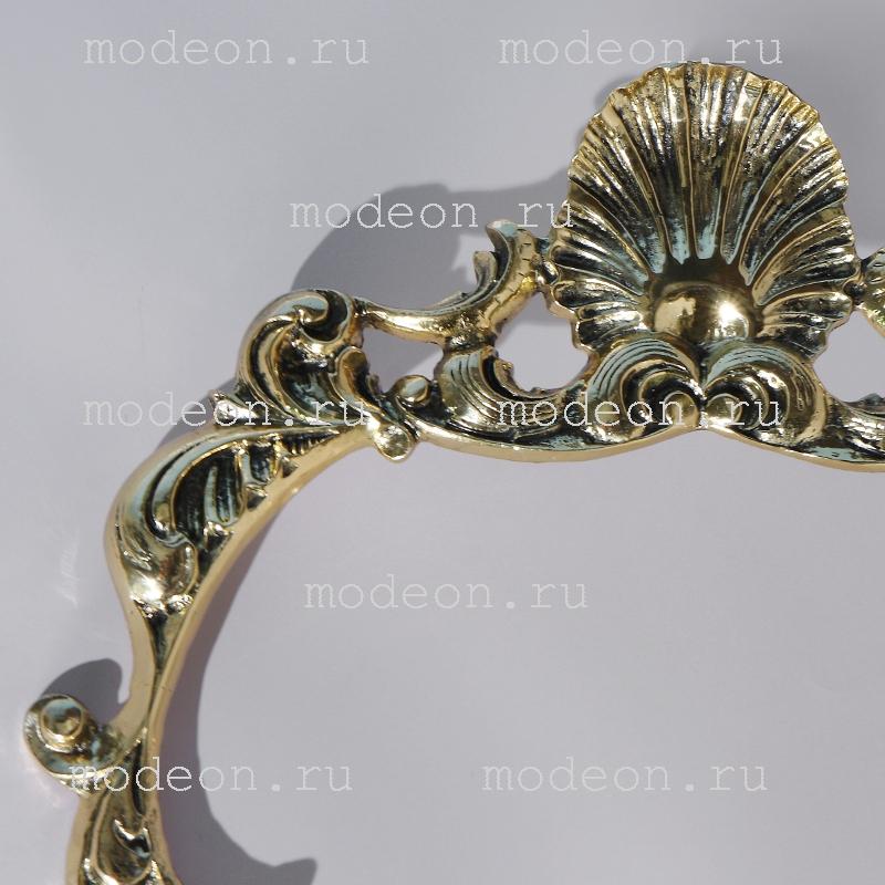 Зеркало из бронзы в прихожую Виола