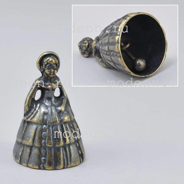 Колокольчик настольный фигурный Жозефина
