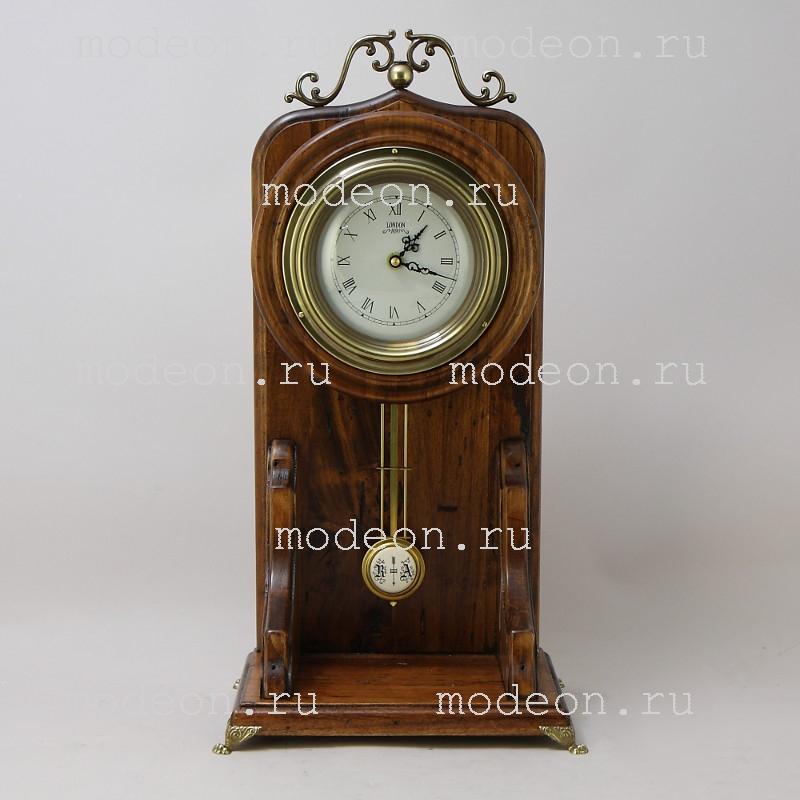 Часы настольные из дерева Лучио