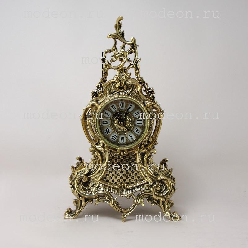 Часы каминные из бронзы Дон Луи