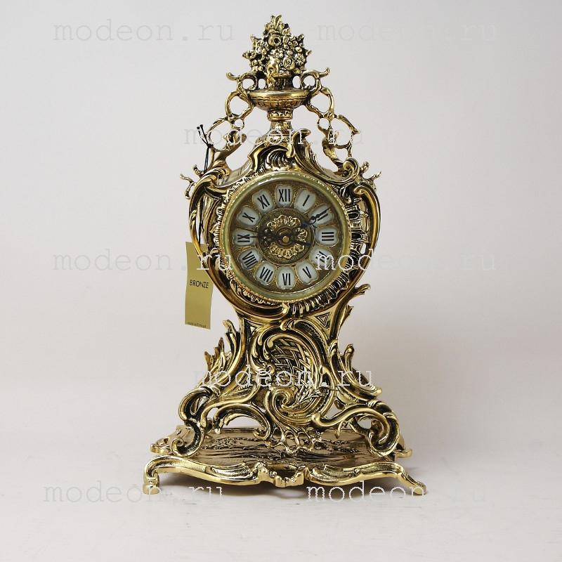 Часы каминные из бронзы Ласу Кришта
