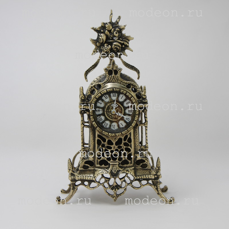 Часы каминные Кафедрал, антик