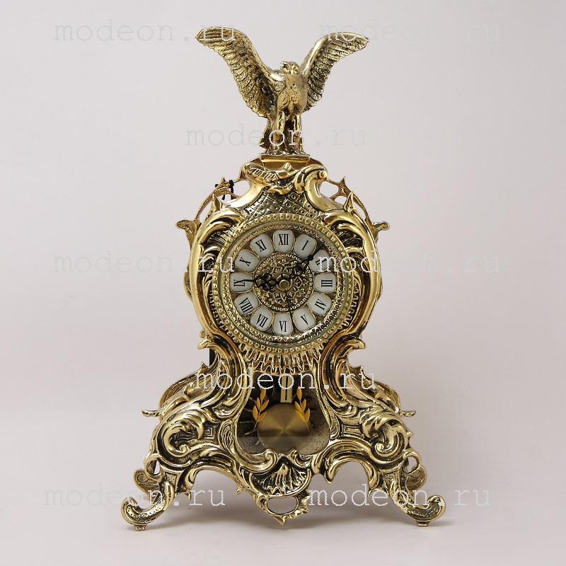 Часы бронзовые с маятником Дон Жуан Агило