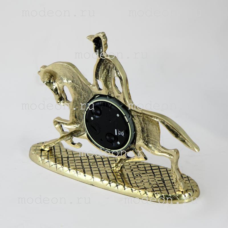 Часы настольные из бронзы Кабальеро