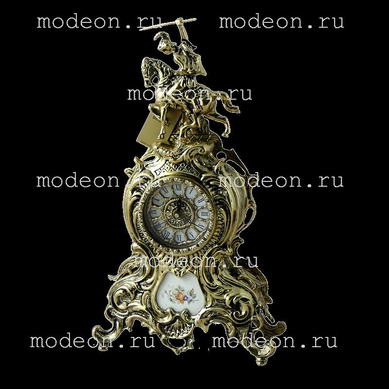 Часы из бронзы Дон Жуан, золото