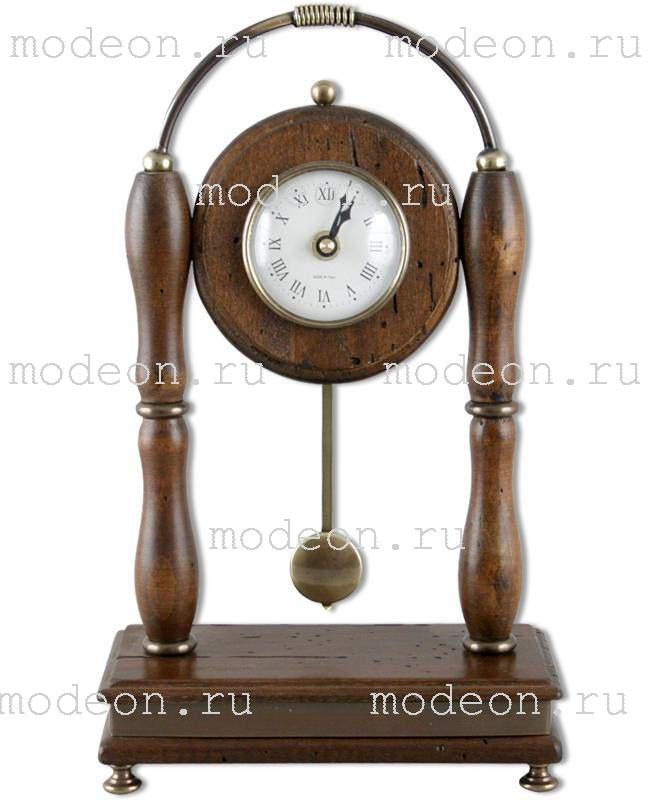 Часы настольные с маятником Караваджо