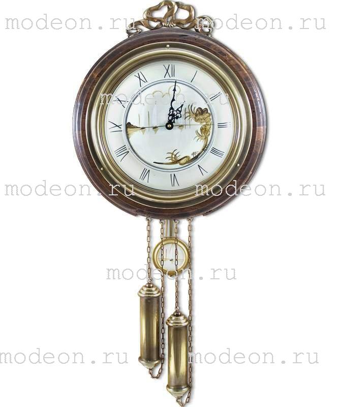 Часы настенные с маятником и гирями Классические