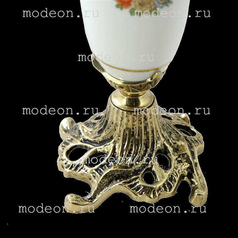 Канделябр с керамикой и бронзой Триумфатор