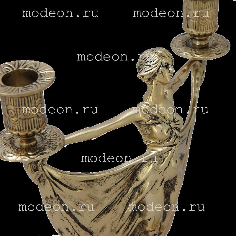Канделябр бронзовый Балерина