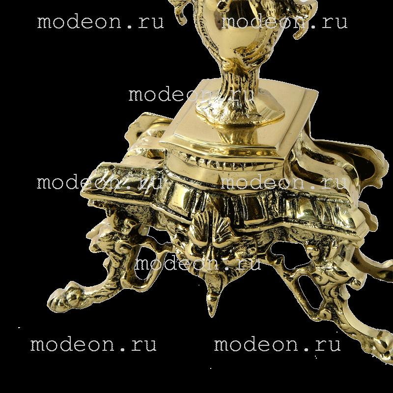 Канделябр высокий из бронзы Каранка