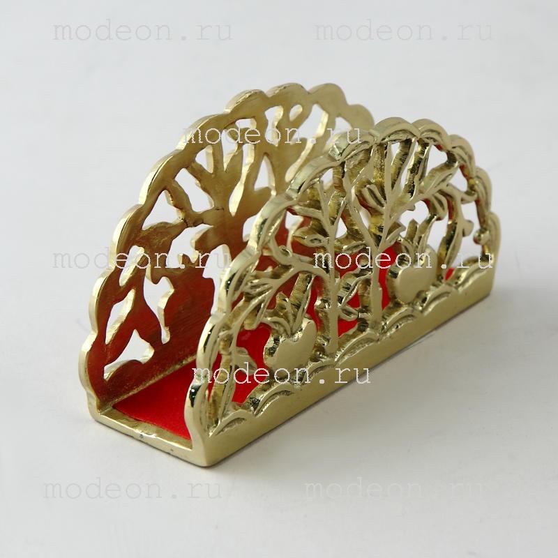 Салфетница бронзовая Фрукты