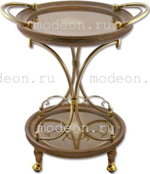 Столик на колесиках для завтрака Старинный