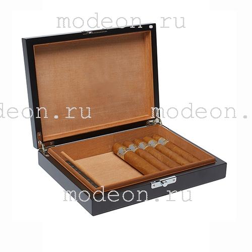 Хьюмидор на 25 сигар Черный принц, AFICIONADO