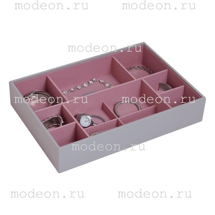 Открытая шкатулка для украшений Бартон-3, сиреневая