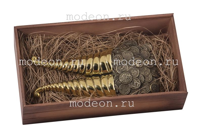 """Подарочный рожок для снятия обуви """"Рог изобилия"""""""