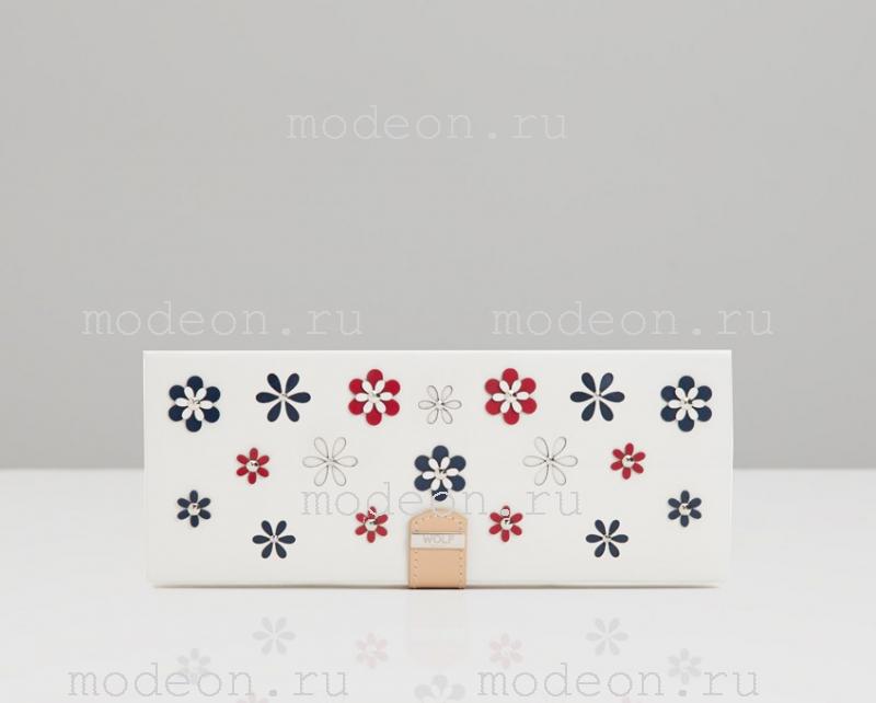 Плоская шкатулка для украшений 467253 Blossom, Wolf