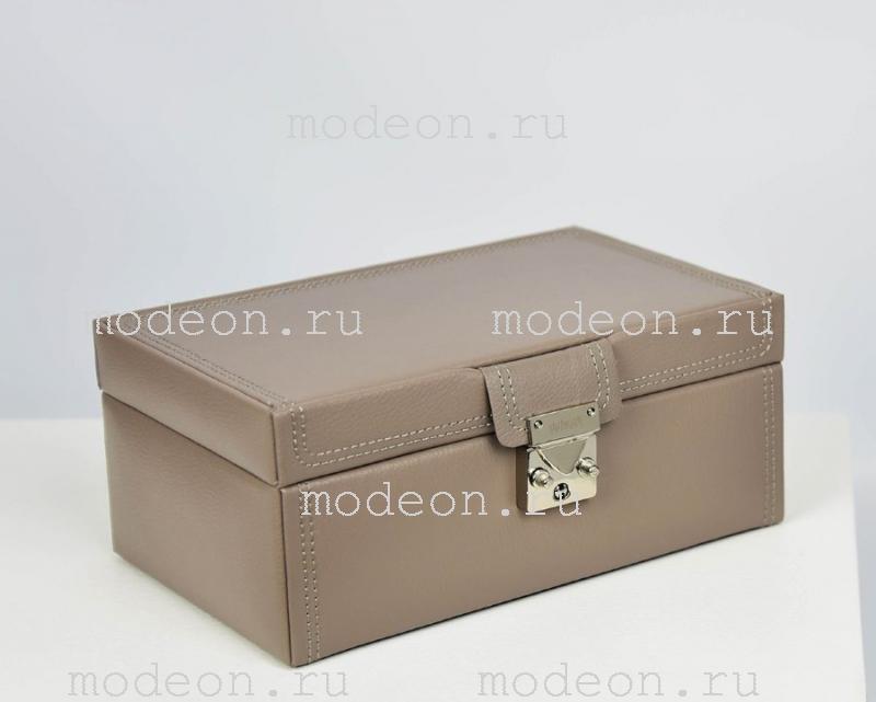 Шкатулка для украшений Тюссо, коричневая
